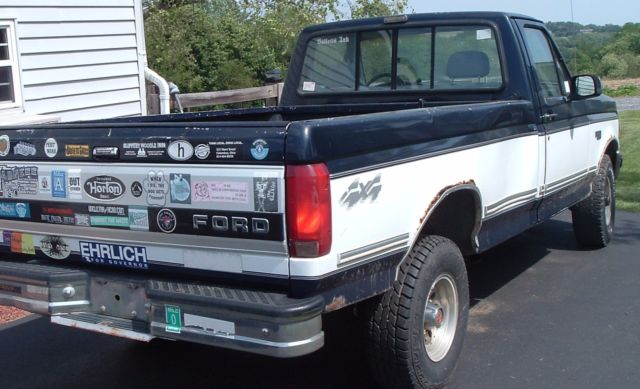 1993 ford f 150 xlt 4x4 real work horse runs great for Crate motors ford f150