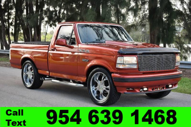 1993 ford f150 svt lighting 2 door v8 pickup truck. Black Bedroom Furniture Sets. Home Design Ideas