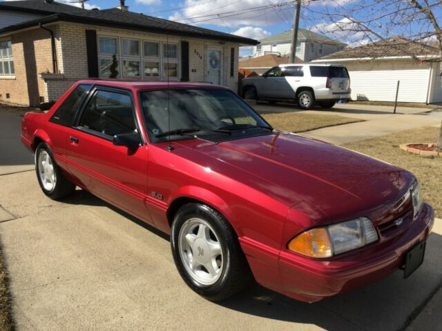 1993 Ford Mustang Lx 5 0 Notchback Coupe For Sale Photos Technical Specifications Description