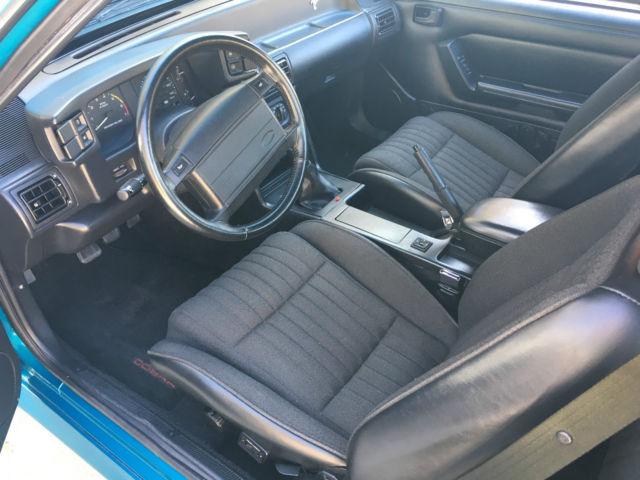 Teal 93 Cobra >> 1993 Ford Mustang SVT Cobra #191 of 4993 - Teal / Black