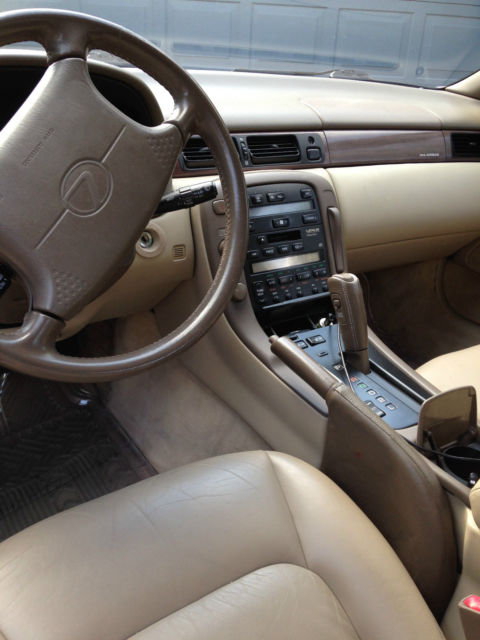 1993 Lexus Sc400 Gold With Tan Leather Interior 00 For