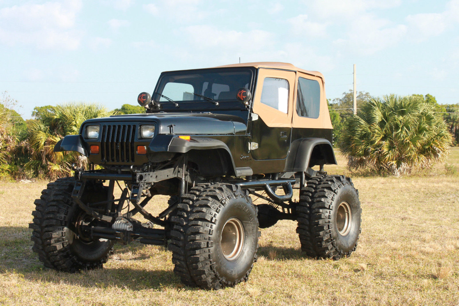 1993 lifted jeep wrangler 383 stroker monster 44 boggers free 1989 Jeep YJ Off-Road 1993 lifted jeep wrangler 383 stroker monster 44 boggers free delivery for sale in fort pierce florida united states