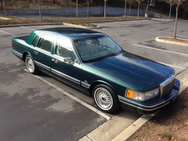 1993 Lincoln Town Car Signature Series Jack Nicklaus
