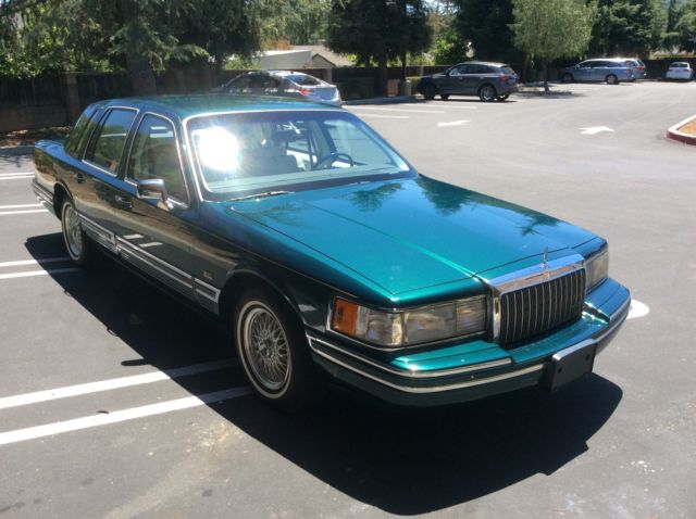1993 Lincoln Town Car Signature Series Jack Nicklaus Edition 46 000 Miles For Sale In Los Gatos