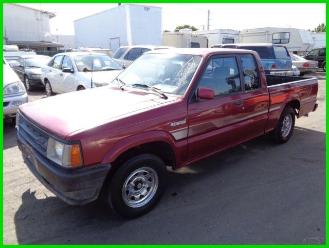 1993 Mazda B2600 Used 2 6L I4 8V Automatic Pickup Truck NO