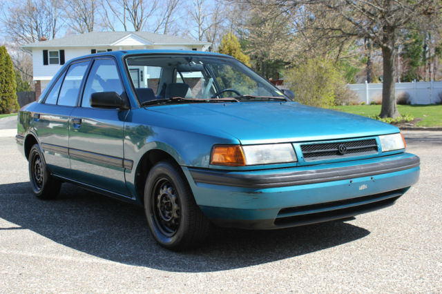 1993 mazda protege 55 000 miles clean carfax for sale in huntington station new york united states for sale photos technical specifications description classiccardb com