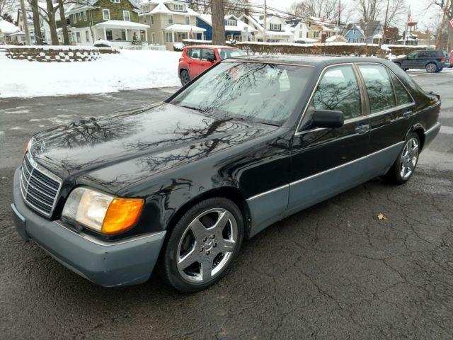 1993 mercedes 300sd turbo diesel w140 big body black 157k for Mercedes benz biography