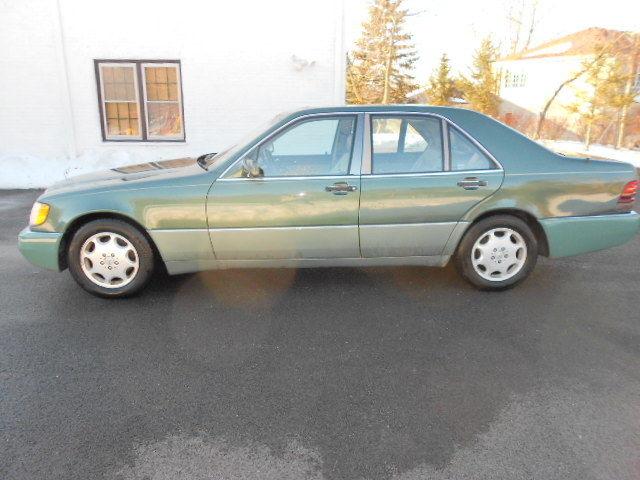 1993 mercedes benz 300sd turbo diesel sedan w140 3 5l for Mercedes benz turbo diesel