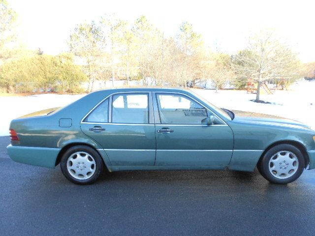 1993 mercedes benz 300sd turbo diesel sedan w140 3 5l for 1993 mercedes benz 300sd