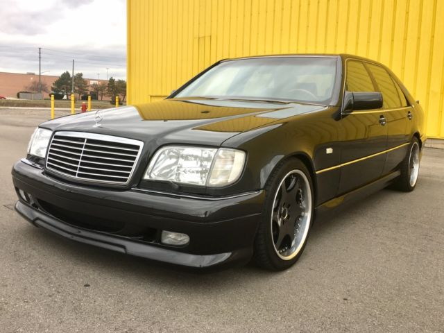 1993 mercedes s500 w140 big boy s class with wald body kit for 1993 mercedes benz 500 class