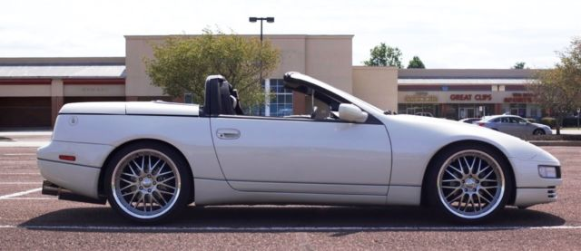 Nissan Zx Twin Turbo Convertible Never Made By Nissan Rare One Of A Kind