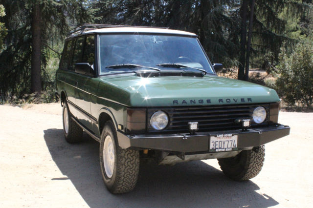 1993 Range Rover Classic 4 2L LWB Low Mile Time Warp Fully