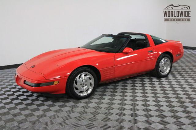 C4 Corvette For Sale >> 1993 Red 6 SPEED MANUAL C4 CORVETTE T TOP!!