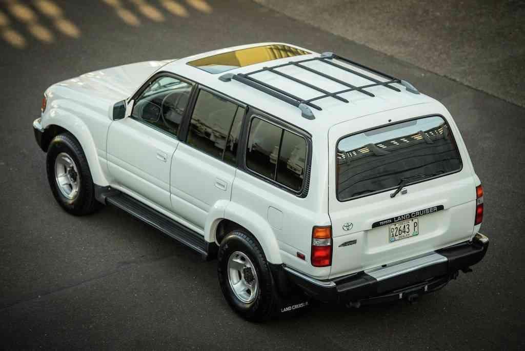 1993 Toyota Land Cruiser White Fj80 Diff Lockers Original