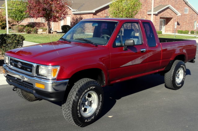 1993 toyota pickup dlx extended cab 4x4 shortbed for - 1993 toyota pickup interior parts ...