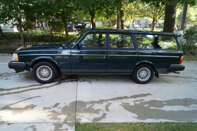 1993 volvo 240 classic rare limited edition station wagon for sale in prairie village kansas. Black Bedroom Furniture Sets. Home Design Ideas