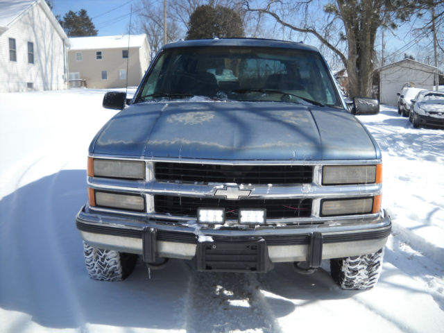 1994 94 Chevy Blazer K5 Full Size 1500 5 Speed Manual 4wd No Rust 350 Sweet For Sale In Nashport