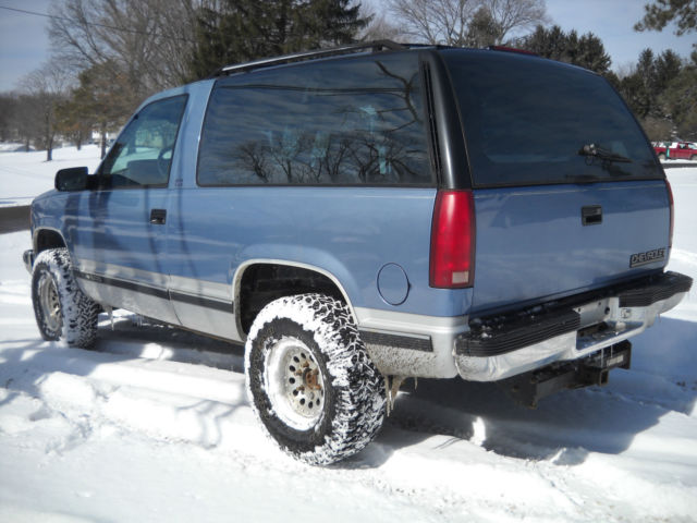 1994 94 chevy blazer k5 full size 1500 5 speed manual 4wd no rust 350 sweet for sale in nashport. Black Bedroom Furniture Sets. Home Design Ideas
