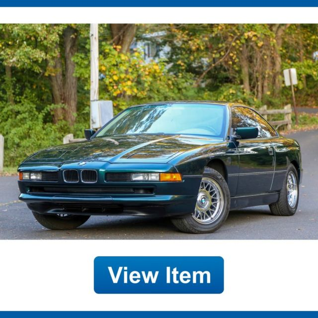 1994 BMW 840i Coupe 1 Owner 57K Mi Arizona CARFAX Rare
