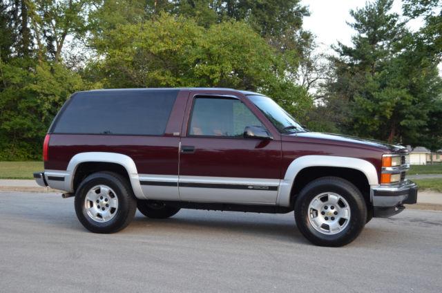 Chevrolet Blazer Silverado Tahoe Sport Yukon Gt Door Dr Chevy K on 1994 Chevrolet Blazer Seats