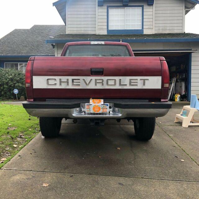 1994 Chevrolet K1500 Silverado 5.7l 4x4 Short Bed Cab Box
