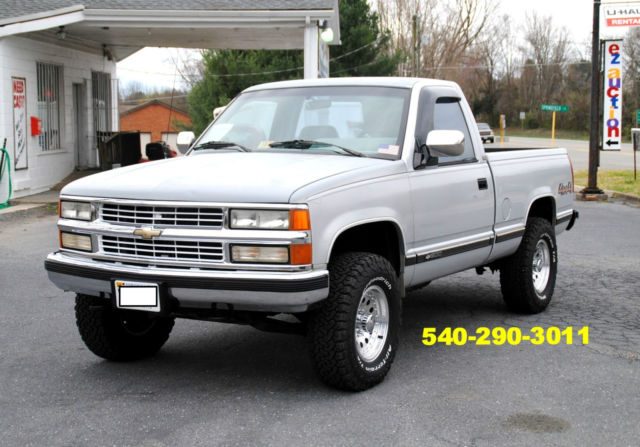 1994 chevrolet silverado 1500 pickup truck 4 x 4 v 8. Black Bedroom Furniture Sets. Home Design Ideas