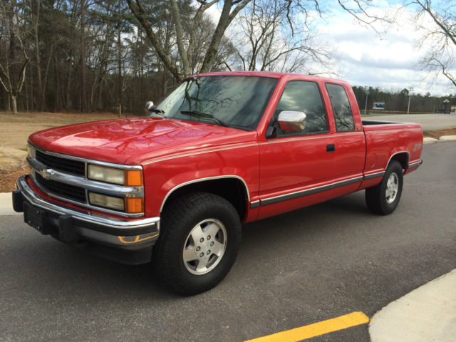 1994 chevrolet silverado z71 4 wheel drive extended cab in. Black Bedroom Furniture Sets. Home Design Ideas