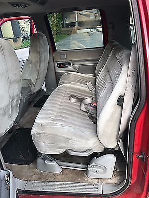 1994 chevrolet suburban two tone black and red with 4th row seat seats 11. Black Bedroom Furniture Sets. Home Design Ideas