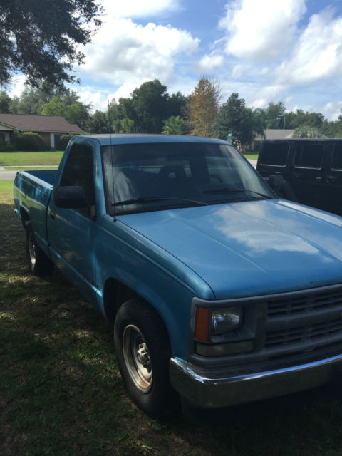 1994 chevy 1500 wt for sale in deltona florida united states. Black Bedroom Furniture Sets. Home Design Ideas