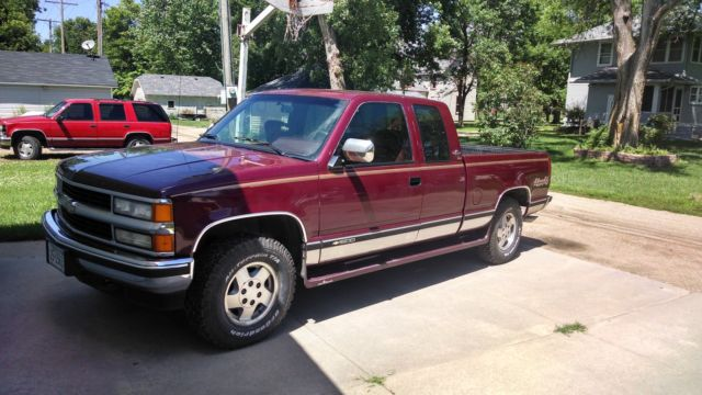 1994 chevy 4x4 extended cab with 73k original miles ! for ...