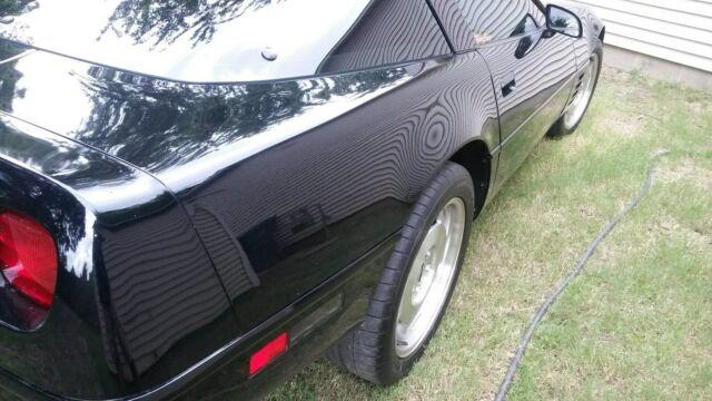 1994 Chevrolet Corvette Interior: 1994 Corvette LT1