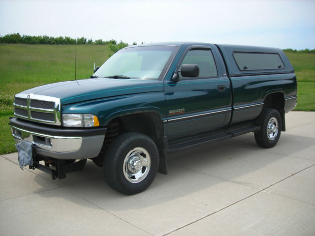 1994 dodge ram 2500 cummins 12 valve 4x4 low miles excellent driving truck for sale in madison. Black Bedroom Furniture Sets. Home Design Ideas