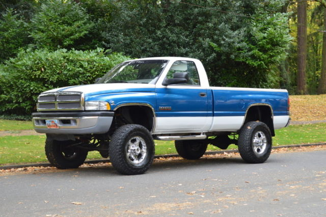 4 Inch Lift Kit For Dodge Ram 1500 4wd >> 1994 DODGE RAM 2500 REG CAB LONG BED AUTO 4X4 5.9 CUMMINS DIESEL 136,545 MILES for sale: photos ...