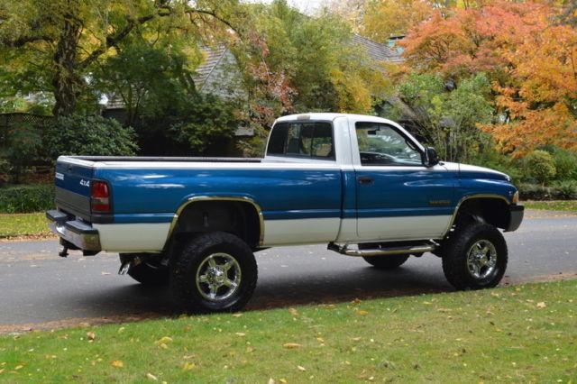 1994 DODGE RAM 2500 REG CAB LONG BED AUTO 4X4 5.9 CUMMINS DIESEL 136,545 MILES for sale: photos ...