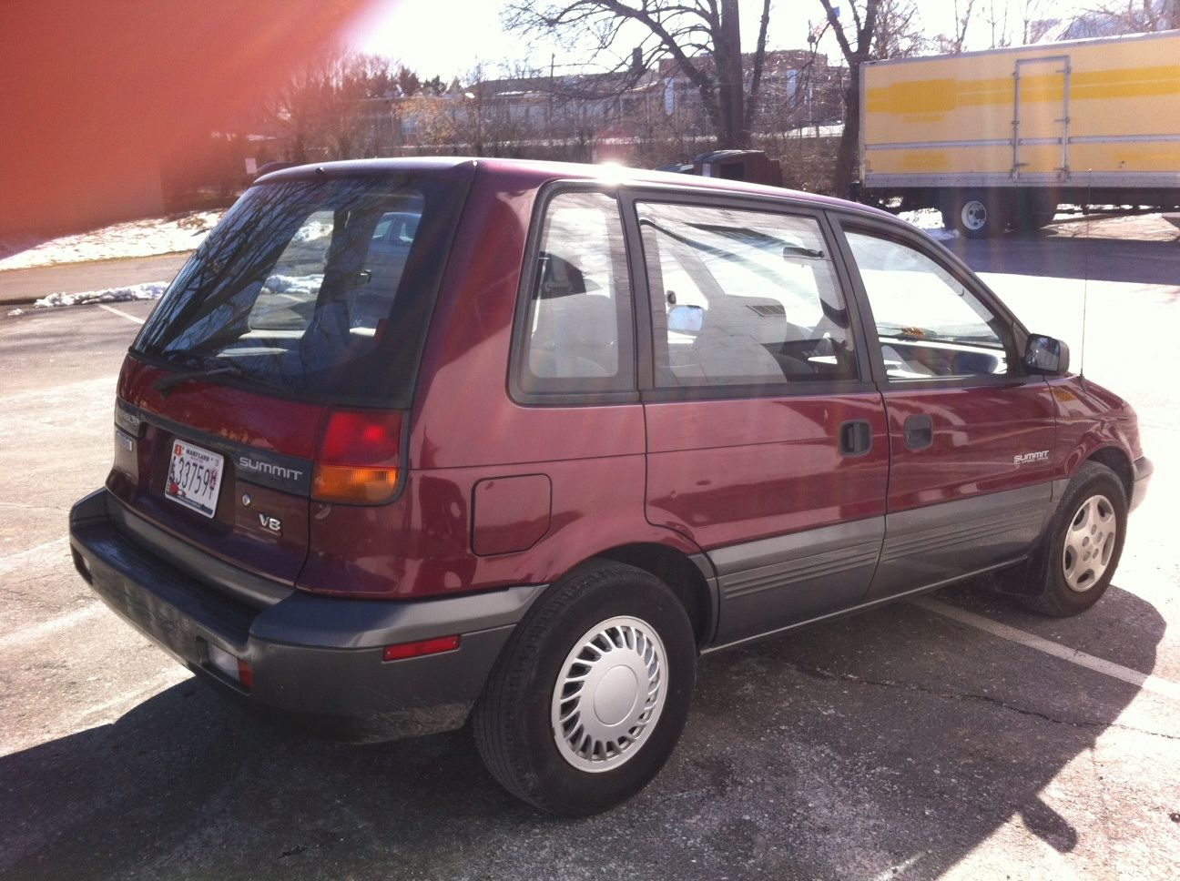 1994 Eagle Summit 4wd 3 Door Wagon For Sale In Rockville  Maryland  United States For Sale
