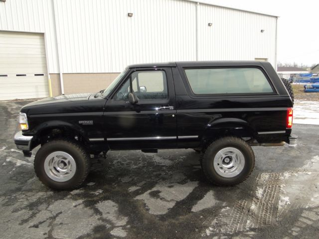 1994 Ford Bronco Xlt Rebuilt Restored 4in Lift Spider
