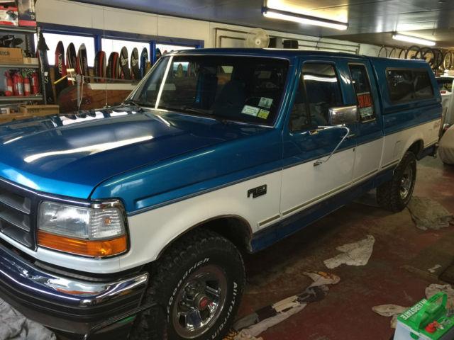 1994 ford f 150 xlt extended cab pickup 2 door 5 8l for. Black Bedroom Furniture Sets. Home Design Ideas