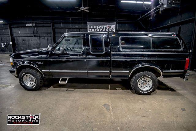 1994 ford f 150 xlt supercab 4wd 188790 miles black 5 0 v8. Black Bedroom Furniture Sets. Home Design Ideas