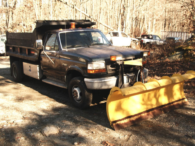 Front Wheel Drive Dump Truck : Ford f wheel drive xl cab chassis door l
