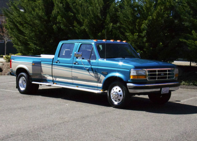 1994 Ford F 350 Crew Cab 2wd Dually Centurion Conversion