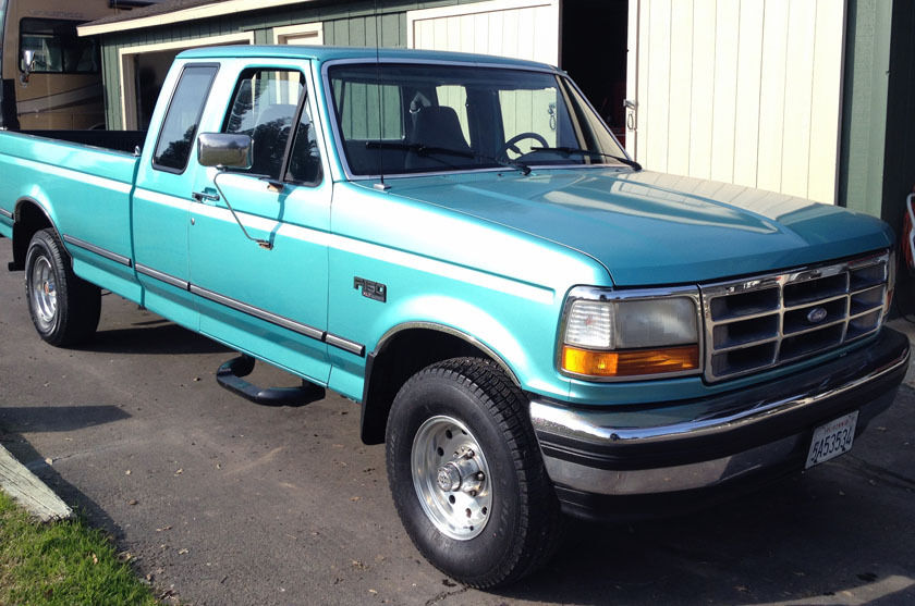 1994 Ford F150 4x4 Extra Cab Long Bed Excellent Condition Low