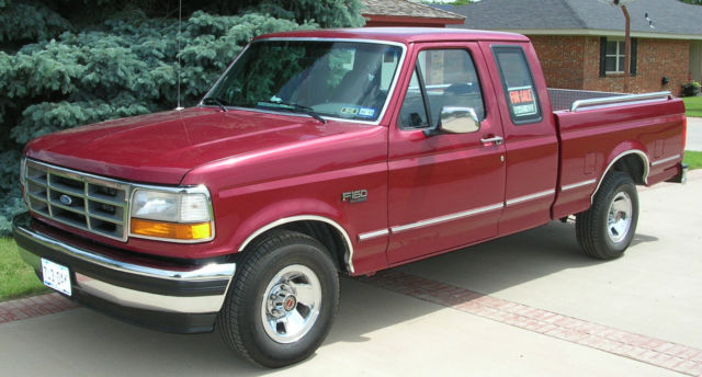 Ford F Xlt Supercab Original Owner Excellent Condition No Rust Ever on 1994 Ford F 150 Engine Size