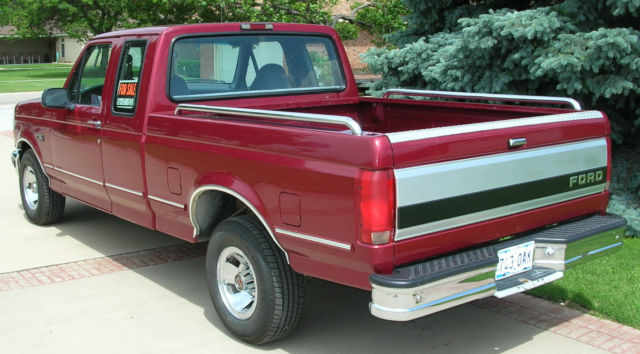 Ford F Xlt Supercab Original Owner Excellent Condition No Rust Ever on 1994 Ford F 150 351 Engine