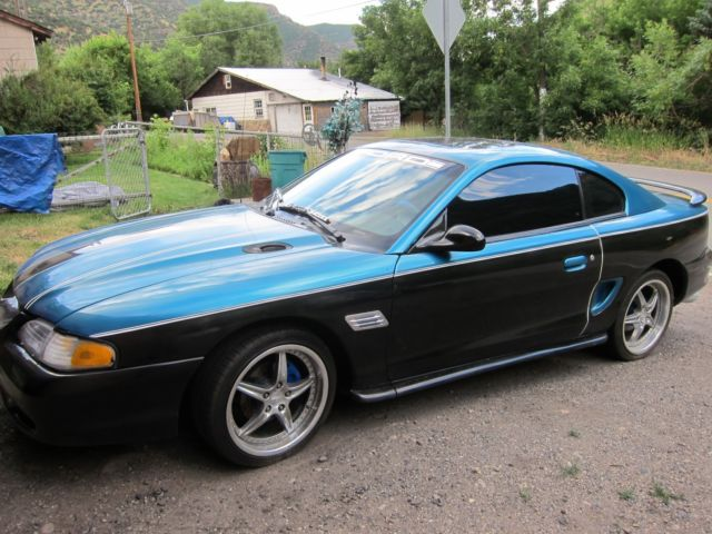 1994 ford mustang 2 door coupe ho 5 0 engine 5 speed manual 17 custom rims. Black Bedroom Furniture Sets. Home Design Ideas