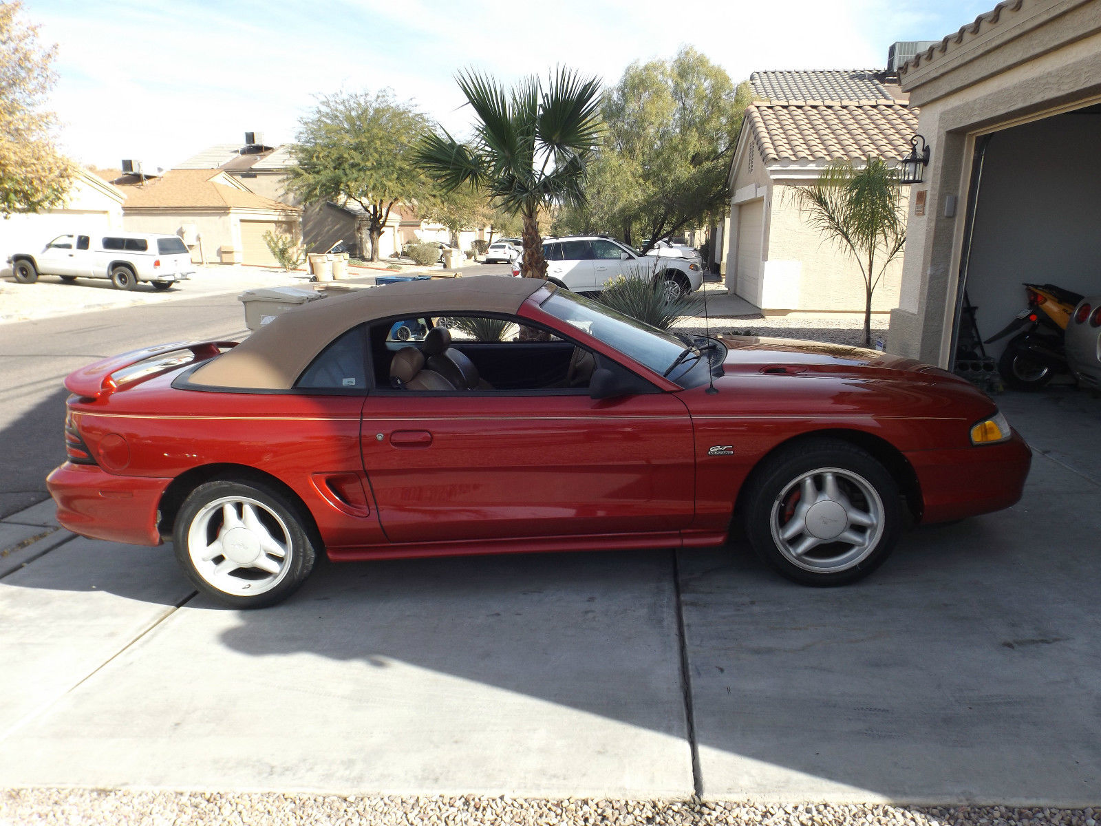 1994 ford mustang gt convertible mint condition. Black Bedroom Furniture Sets. Home Design Ideas