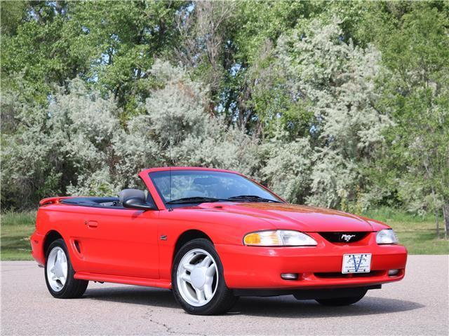 1994 ford mustang gt convertible 1 owner 7k miles unmodified 5 0 v8. Black Bedroom Furniture Sets. Home Design Ideas