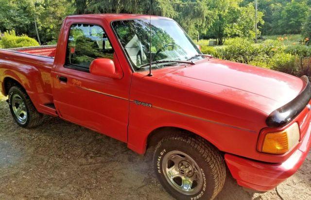 1994 ford ranger splash pickup truck 2 3 liter gas engine for Ford ranger motor oil type