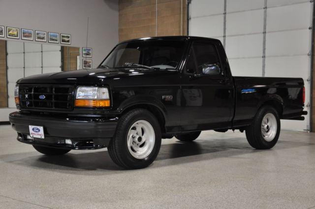 1994 ford svt lightning raven black 2 593 orig miles pristine condition for sale in st. Black Bedroom Furniture Sets. Home Design Ideas