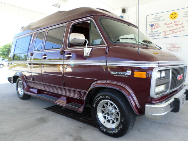 1994 gmc vandura high top conversion van 52k original miles 1 owner since new for sale in. Black Bedroom Furniture Sets. Home Design Ideas