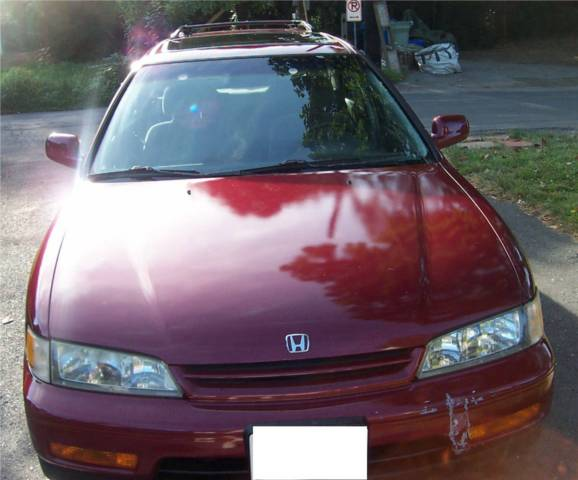 1994 Honda Accord wagon, rare 5 speed manual, top maintenance = over 400K miles! for sale in ...